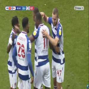 Reading 1-0 Rotherham United: Meite 41'