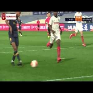 Richairo Zivkovic Goal 77' - Guangzhou R&F [2] - 0 Qingdao Huanghai