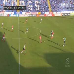 Santa Clara [1]-1 Sporting - Thiago Santana 42'
