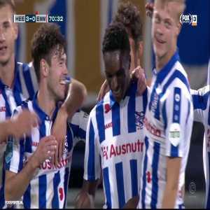 sc Heerenveen [3] - 0 FC Emmen - Rodney Kongolo 71' (great goal)