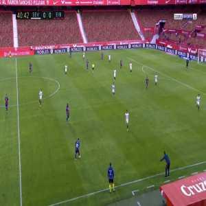 Sevilla 0-1 Eibar - Garcia Kike 42'