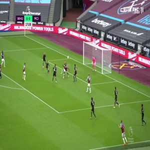 West Ham [1] - 0 Manchester City - Antonio great goal 18'
