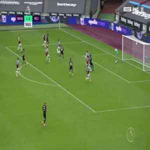 West Ham 1 - [1] Manchester City - Phil Foden 51'