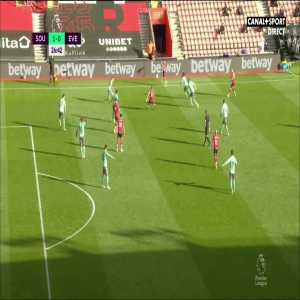 Southampton [1] - 0 Everton - Ward-Prowse 27'