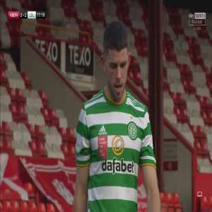 Aberdeen 2-[3] Celtic: Ryan Christie 78'
