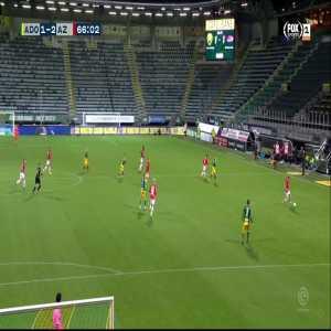 ADO Den Haag 1-[2] AZ Alkmaar | Jesper Karlsson 66'