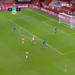 Arsenal 0 - [1] Leicester - Jamie Vardy 80'
