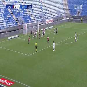 Cagliari 2-[2] Crotone - Salvatore Molina 43'
