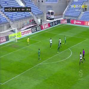 Farense 0-1 Rio Ave - incredibly wasted chance by Rio Ave 40'