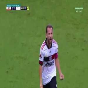 Internacional 2-[2] Flamengo - Éverton Ribeiro 90'+5'