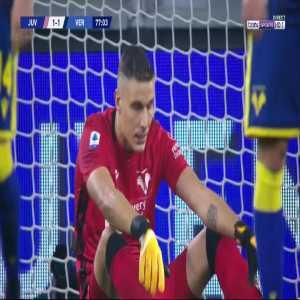 Juventus [1] - 1 Hellas Verona - Dejan Kulusevski 77'
