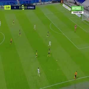 Lyon 1-0 Monaco - Memphis Depay 12'