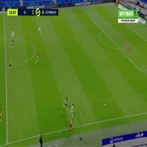 Lyon 2-0 Monaco - Karl Toko Ekambi 34'