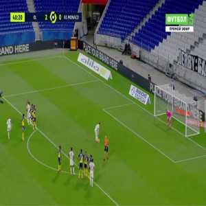 Lyon 3-0 Monaco - Houssem Aouar penalty 41'