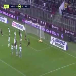 Metz 1-0 Saint-Étienne - Farid Boulaya 5'