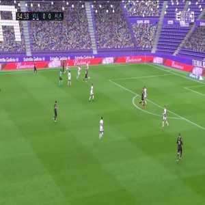 Real Valladolid 0:1 Deportivo Alavés - Tomás Pina 55'