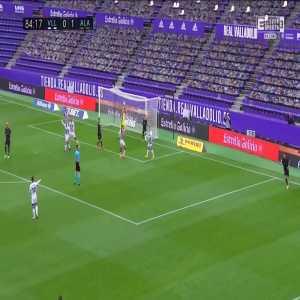 Real Valladolid 0-2 Deportivo Alavés - Borja Sainz 85'