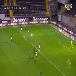 Vitória SC 0-1 Braga - Ricardo Esgaio 28'