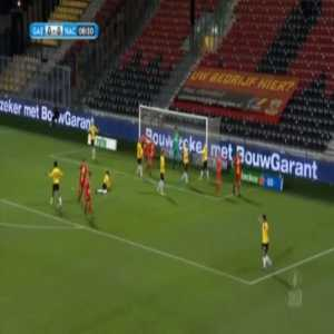 Go Ahead Eagles 1-0 NAC Breda - Sam Beukema 7'
