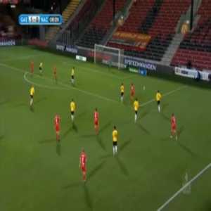 Go Ahead Eagles 2-0 NAC Breda - Sam Hendriks 9'