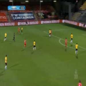 Go Ahead Eagles 3-0 NAC Breda - Zakaria Eddahchouri 12'