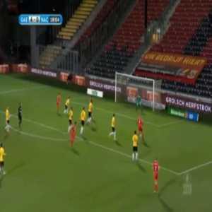 Go Ahead Eagles 5-0 NAC Breda - Luuk Brouwers 19'