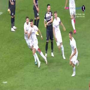 Liga1 Romania: FCSB [1] : 0 FC Hermannstadt / Iulian Cristea 3'