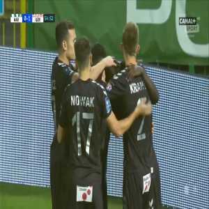 Warta Poznań 0-1 Górnik Zabrze - Jesús Jiménez PK 55' (Polish Ekstraklasa)