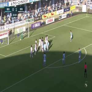 Júbilo Iwata (1)-0 Thespakusatsu Gunma - Yasuhito Endo free kick goal