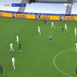 Marseille 0-3 Manchester City - Raheem Sterling 81'