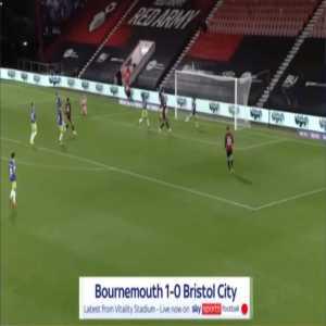Bournemouth 1-0 Bristol City - Arnaut Groeneveld 81'