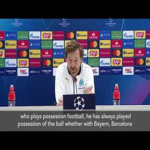 """Villas-Boas: """"City is City. They spent a billion in five years. Their coach is a phenomenon who has always played possession of the ball. Unfortunately, Olympique Marseille do not have the money to bring Guardiola here."""""""