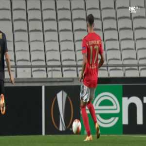 Benfica 1-0 Standard Liège - Pizzi penalty 49'