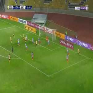 Coquimbo Unido 1-0 Estudiantes de Merida - Diego Vallejos 50'