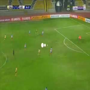 Coquimbo Unido 2-0 Estudiantes de Merida - Diego Aravena 59'