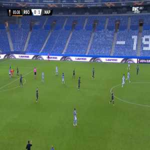 Victor Osimhen (Napoli) disallowed goal against Real Sociedad 86'