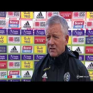 """Wilder: """"I'm frustrated with my side. If people think we can go toe to toe with Man City, they're deluded. So we have to find a different way of playing.... It's Man City, it's not Rochdale in League One. It can't become a game of basketball.""""   Post-Match Interview"""