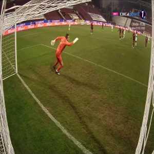 Romania Liga1 - CFR Cluj 0 : [2] Gaz Metan / Dumitru Cardoso 59'