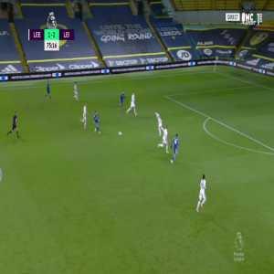 Leeds 1 - [3] Leicester - Jamie Vardy 76'