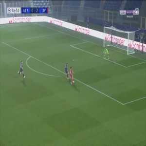 Atalanta 0 - [3] Liverpool - Mohamed Salah 47'