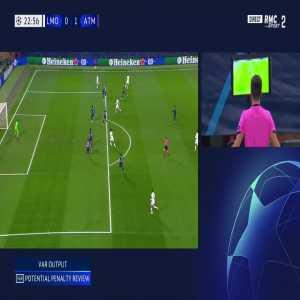 Lokomotiv Moscow [1] - 1 Atlético Madrid - Miranchuk (penalty + call) 25'