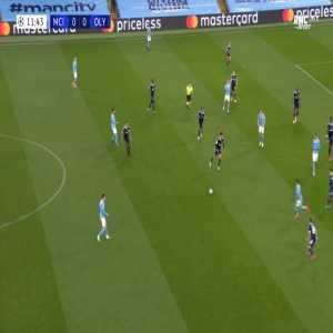 Manchester City 1-0 Olympiakos - Ferran Torres 12'