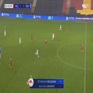 RB Salzburg [2]-2 Bayern Munich - Masaya Okugawa 66'