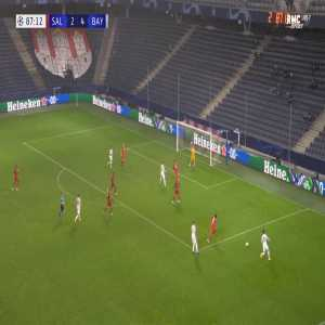 RB Salzburg 2-[5] Bayern Munich - Robert Lewandowski 88'