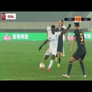 Boateng (long-range) Goal 74' - Guangzhou R&F 0 - [3] Dalian Pro