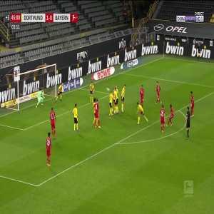 Dortmund 1 - [1] Bayern Munich - David Alaba 45+4'