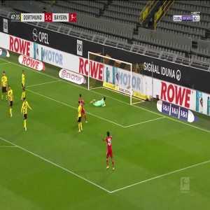 Dortmund 1 - [2] Bayern Munich - Robert Lewandowski 48'
