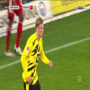 Dortmund [2] - 3 Bayern Munich - Erling Haaland 83'