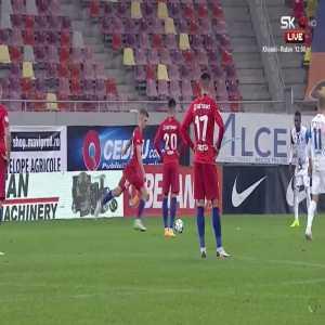 Great Free-Kick Goal! Romania Liga 1 - FCSB [4]:1 FC Botosani / Tanase 71'