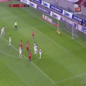 Liga1 Romania - FCSB [2]:1 FC Botosani / Tanase 51' (pen.)